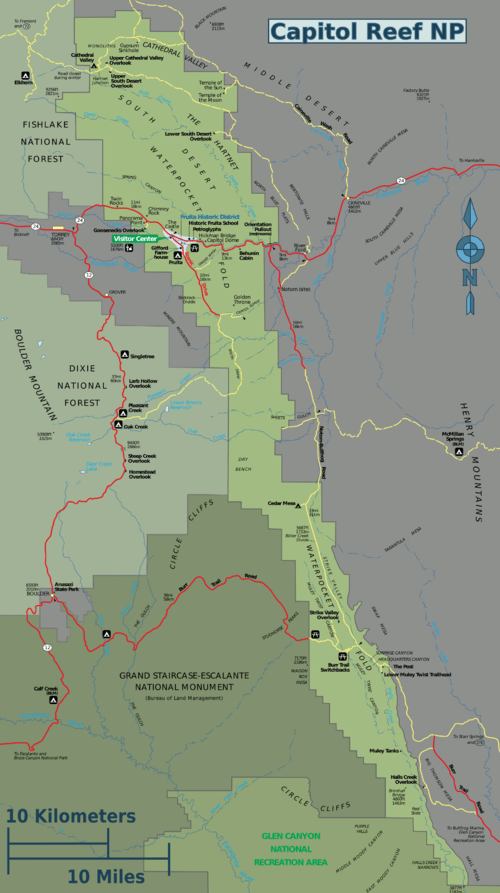 Capitol Reef National Park Travel guide at Wikivoyage