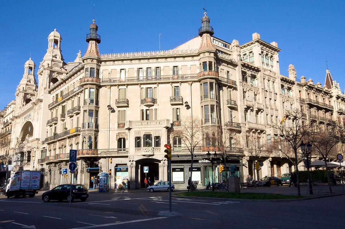 Gran Via de les Corts Catalanes  Wikipedia