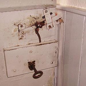 door in Carleton, UK