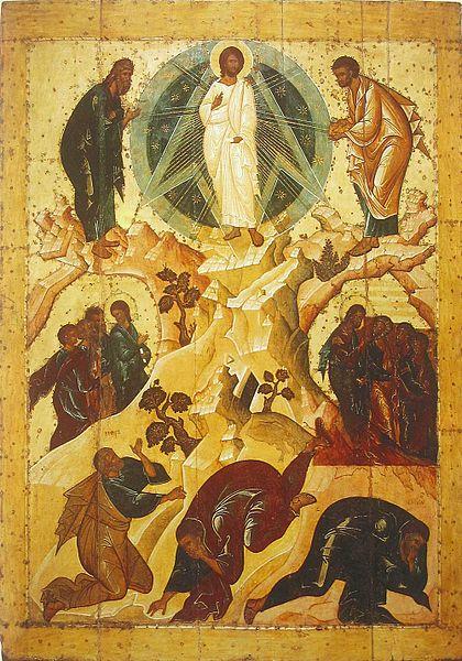 Icon of transfiguration (Spaso-Preobrazhensky Monastery, Yaroslavl).