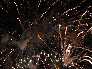 Independence day Fireworks over the Navasink R...