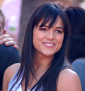 English: Michelle Rodriguez at a ceremony for ...