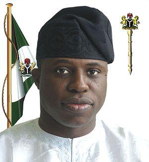 English: Oladimeji Sabur Bankole, Speaker of t...