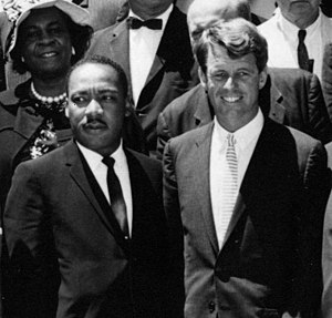 Attorney General Kennedy and Rev. Dr. Martin L...