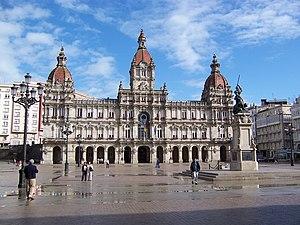 Ayuntamiento of A Coruña.