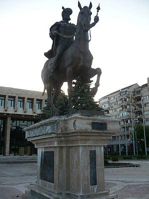 Statuia lui Mihai Viteazul Târgoviște
