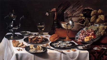 Passeth the cranb rry sauce! The medieval origins of Thanksgiving