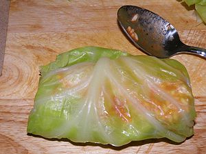 A cabbage roll