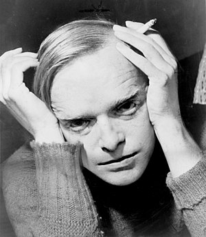 Truman Capote, as photographed by Roger Higgin...