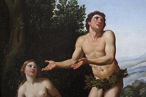 Zampieri - Adam et Ève (détail)