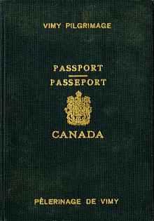加拿大護照 - 維基百科。自由的百科全書