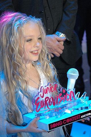 Junior Eurovision winner Anastasiya Petryk