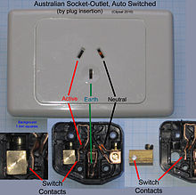 wiring diagram for 3 way caravan fridge gm wiper motor as nzs 3112 wikipedia automatically switched socket outlets such these may be used to supply power refrigerators some computers and other accessories that normally should