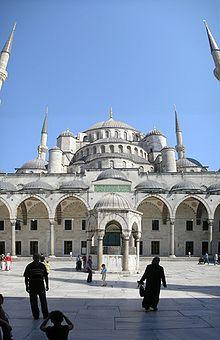 Mezquita Azul  Wikipedia la enciclopedia libre