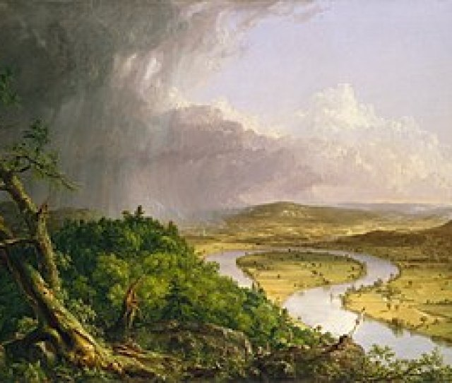 Thomas Cole   The Oxbow View From Mount Holyoke Northampton Massachusetts After A Thunderstorm  Metropolitan Museum Of Art