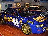Una Subaru Impreza WRC, con cui McRae vinse il World Rally Championship nel 1995