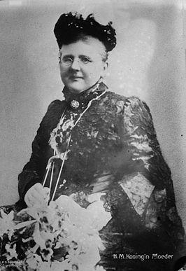 Koningin-moeder Emma der Nederlanden
