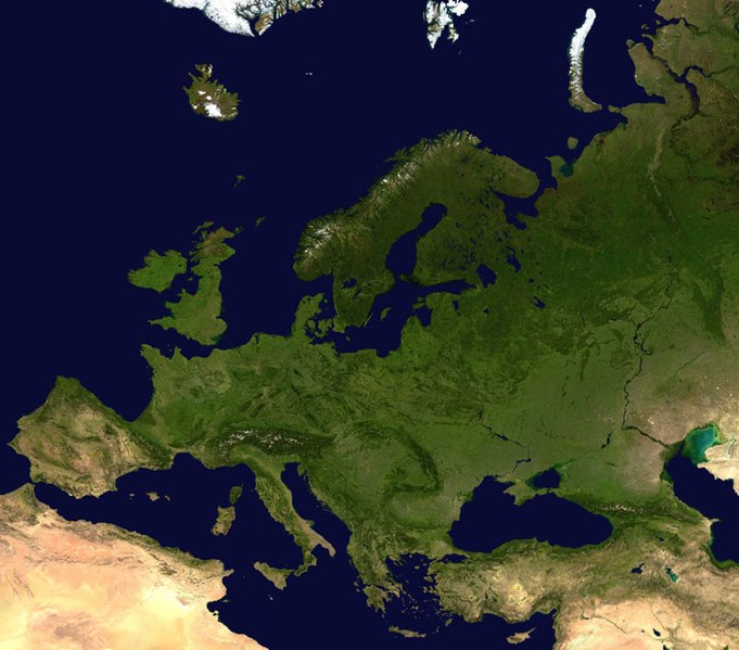 File:Europe satellite globe.jpg