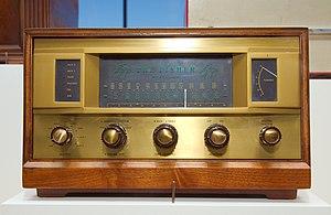 Fisher 500 AM/FM hi-fi receiver from 1959. Cou...