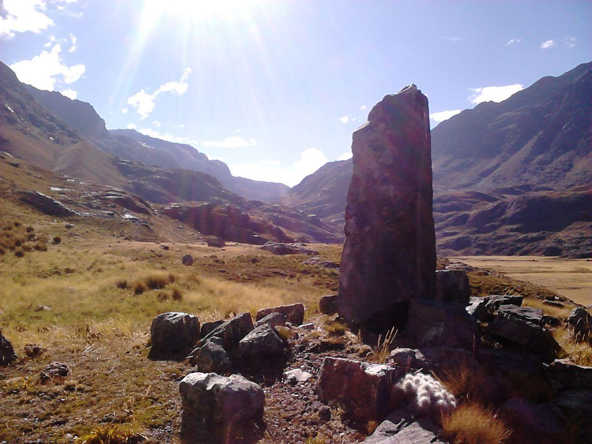 Huanca monolito  Wikipedia la enciclopedia libre