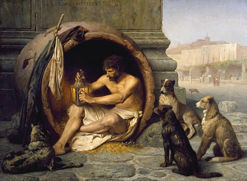 File:Jean-Léon Gérôme - Diogenes - Walters 37131.jpg