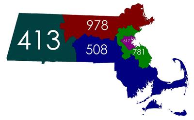List of Massachusetts area codes Wikipedia