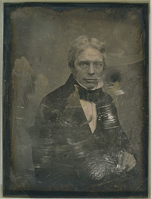 Daguerreotype of Michael Faraday (1791-1867), ...