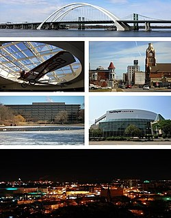 chair cover rentals quad cities retro leather office moline illinois wikipedia clockwise from top interstate 74 bridge downtown taxslayer center the city