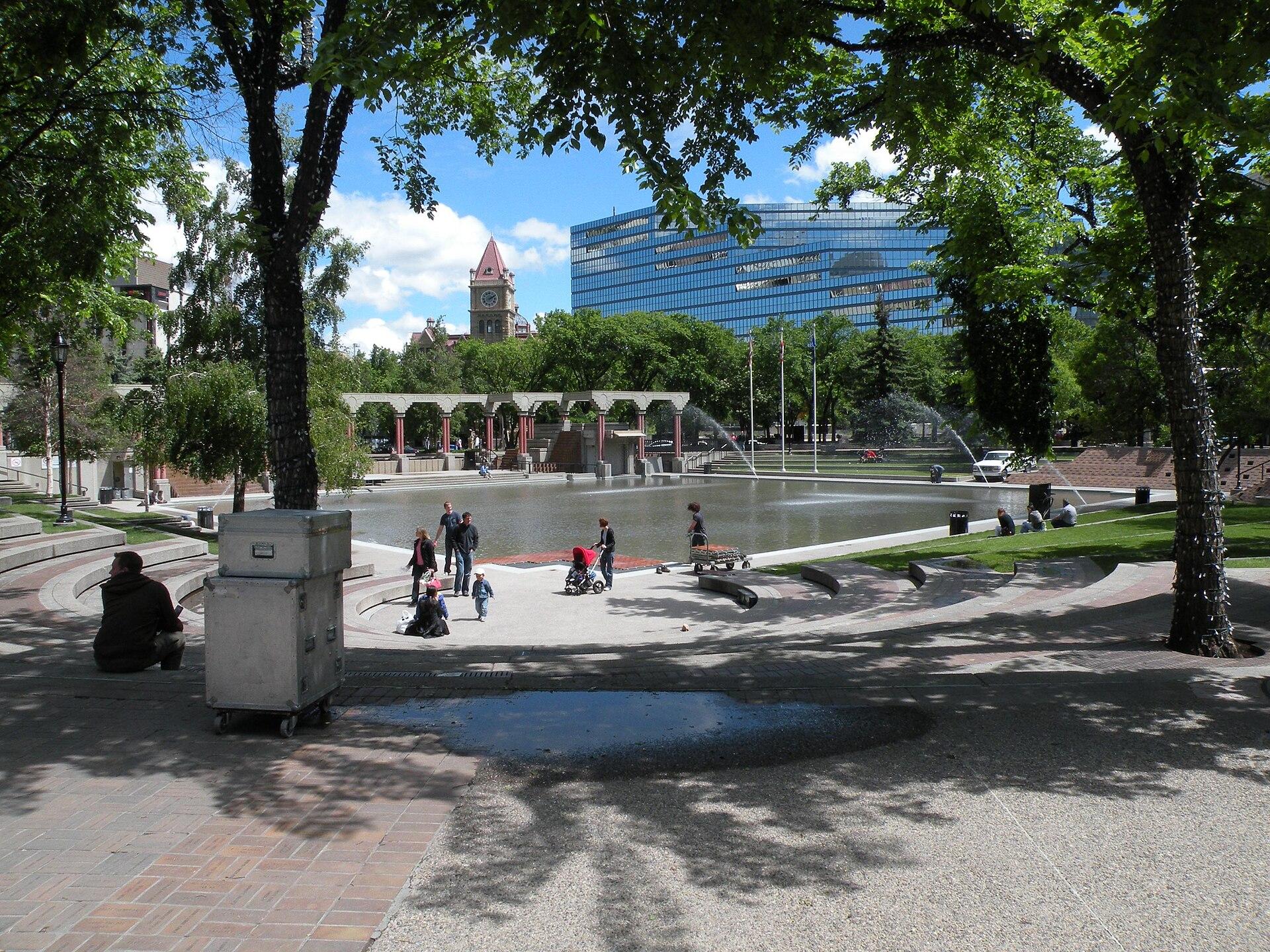 Olympic Plaza Calgary Wikipedia