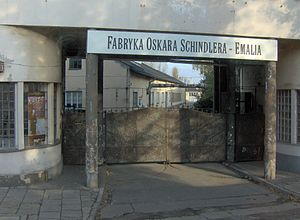 English: Oskar Schindler's enamel factory in K...