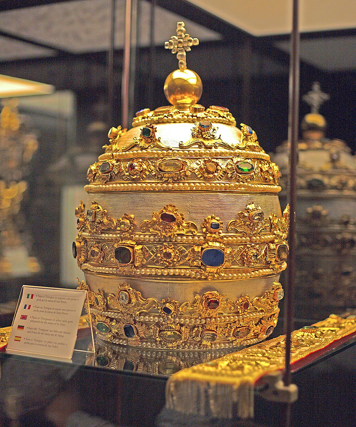 Papal tiara  Wikipedia
