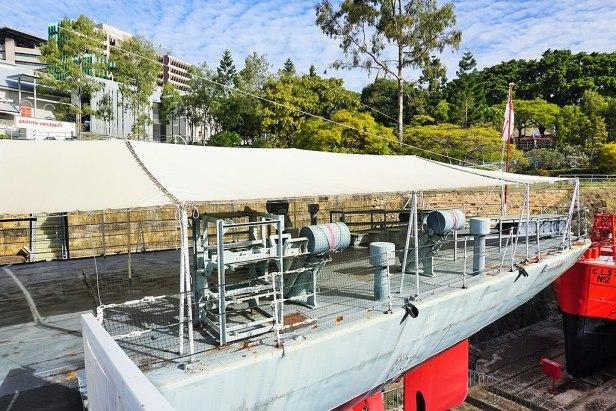 Queensland Maritime Museum - Joy of Museums - HMAS Diamantina (K377) 5