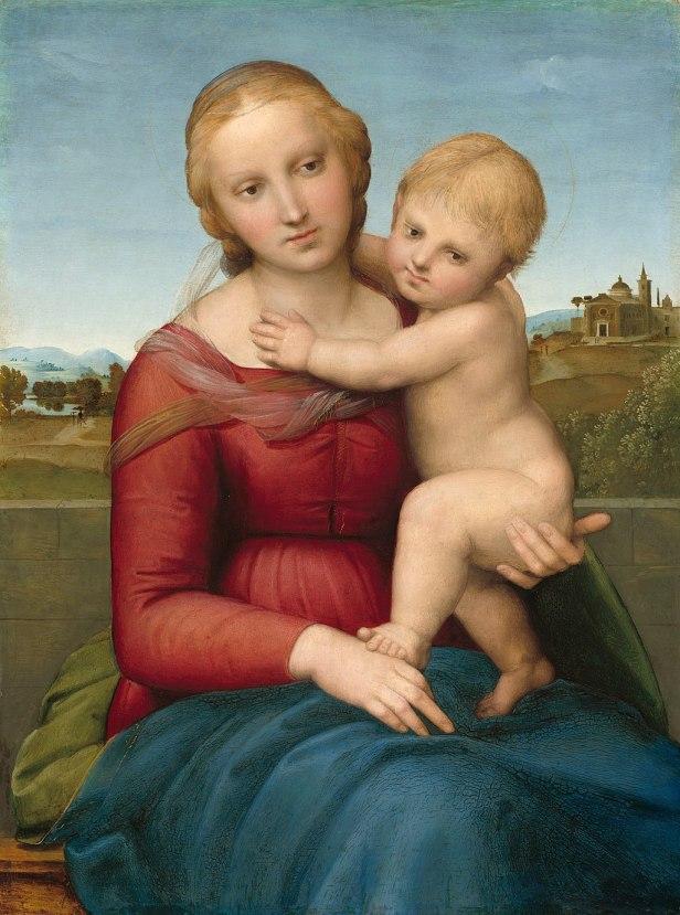 Raffaello Madonna Cowper