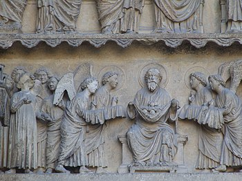 English: Cathedral Notre-Dame de Reims, France...