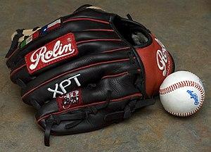 English: Rolin Custom Baseball Glove