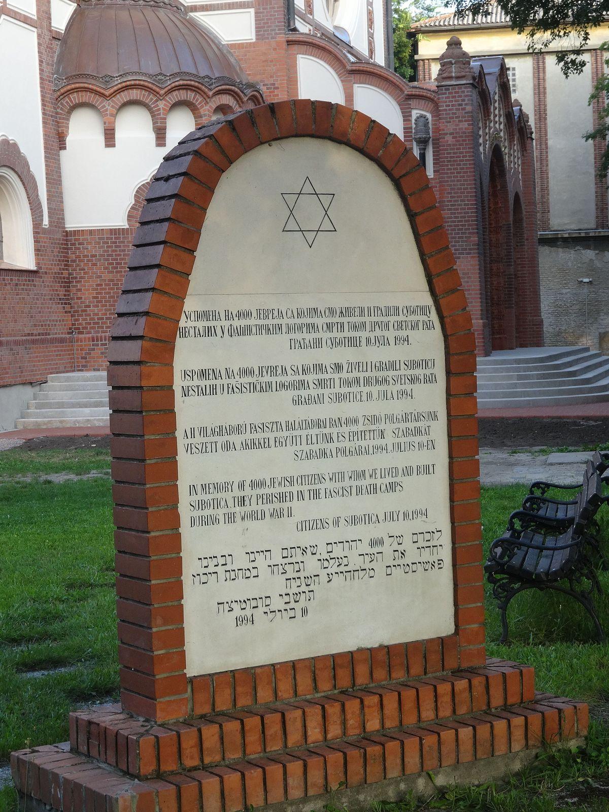 History of the Jews in Serbia  Wikipedia