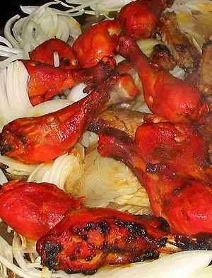 Punjabi Tandoori chicken is a popular dish in ...