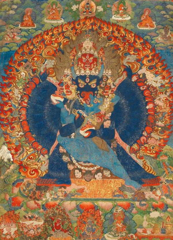 Tibetan Buddhist Thangka Art