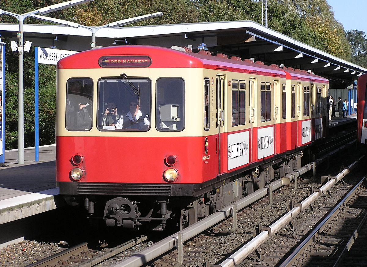 Hamburg UBahn Type DT1  Wikipedia