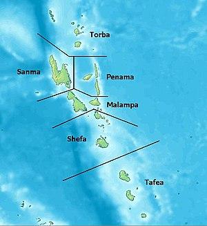 Provinces of Vanuatu.