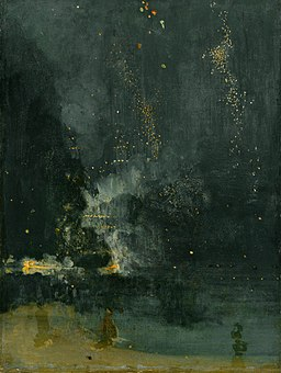 Whistler-Nocturne in black and gold