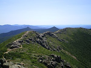 The Franconia Ridge, a section of the Appalach...