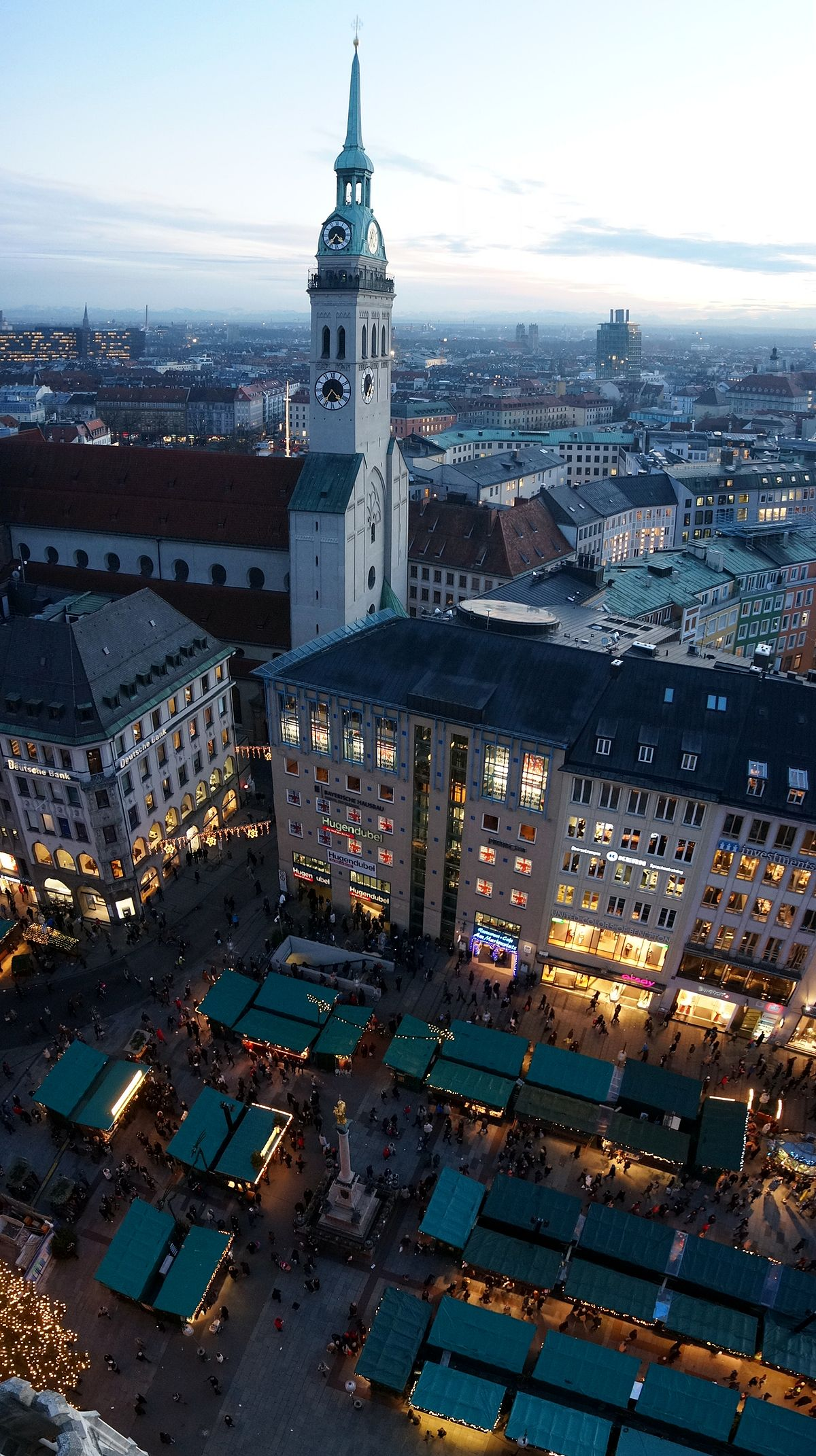 St Peters Church Munich  Wikipedia