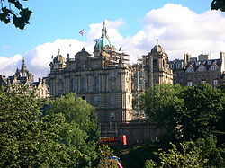 Centro de operaciones del Banco de Escocia