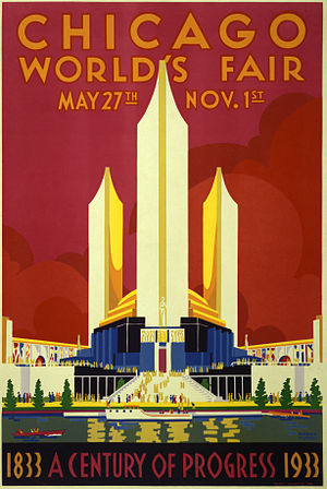 Poster for Century of Progress World's Fair sh...