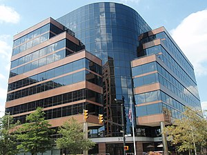 English: DARPA headquarters at 3701 N. Fairfax...