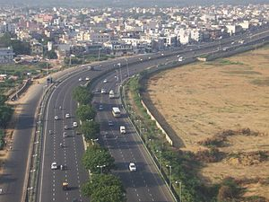 Delhi-Gurgaon stretch of National Highway 8 (N...