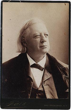 Bust length portrait of abolitionist preacher ...