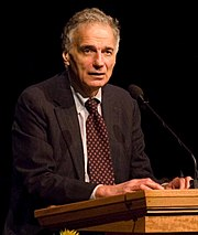 Peace and Freedom Party presidential nominee Ralph Nader
