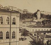 Salvador, província da Bahia (Rodolpho Lindemann, 1875).